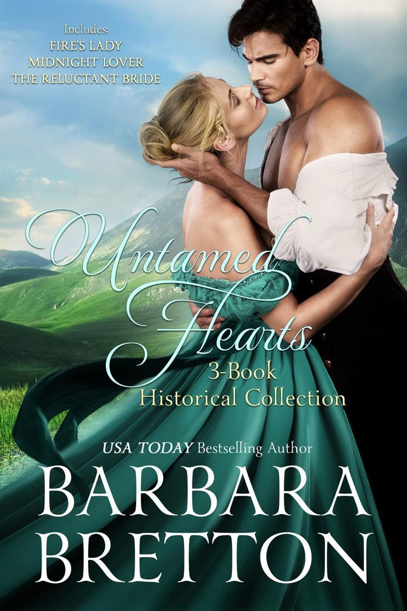 Untamed Hearts - 3-Book Historical Collection