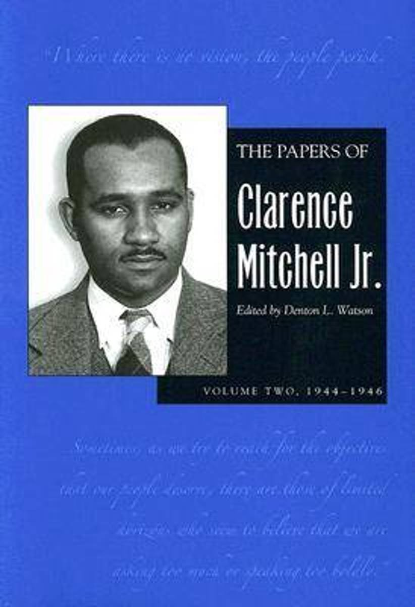 Papers Clarence Mitchell V 2