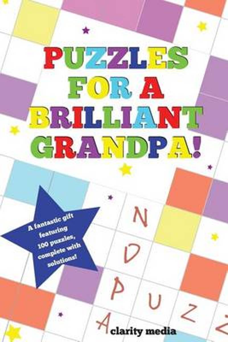 Puzzles for a Brilliant Grandpa