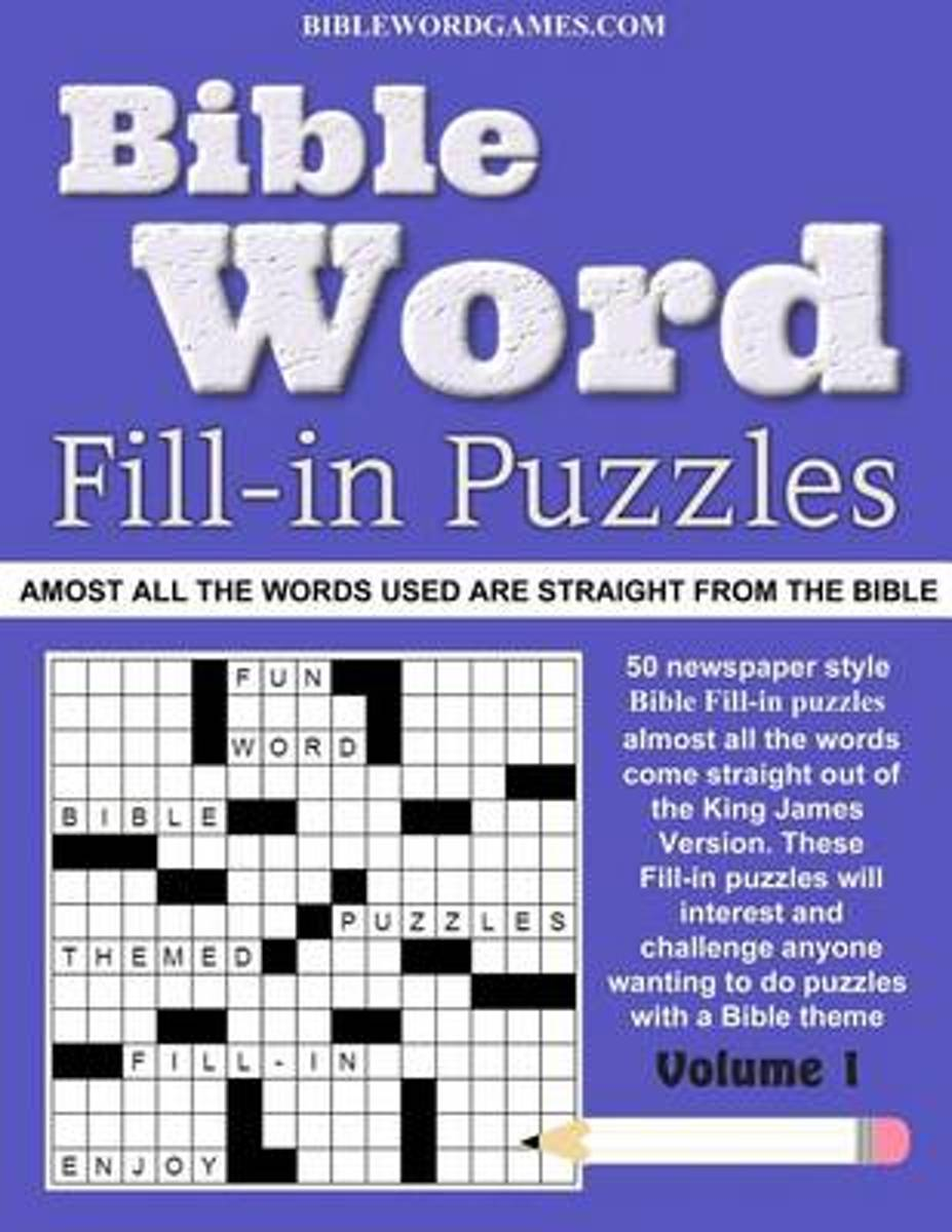 Bible Word Fill-In Puzzles Vol.1