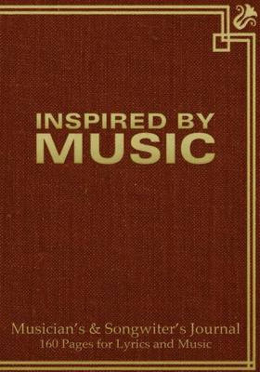 Musician's and Songwriter's Journal 160 Pages for Lyrics & Music