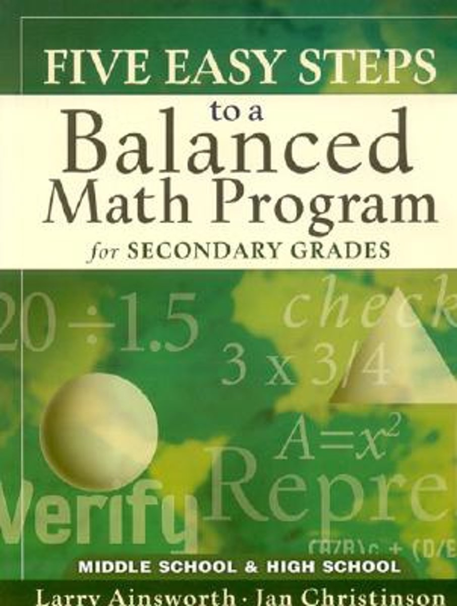 Five Easy Steps to a Balanced Math Program for Secondary Grades