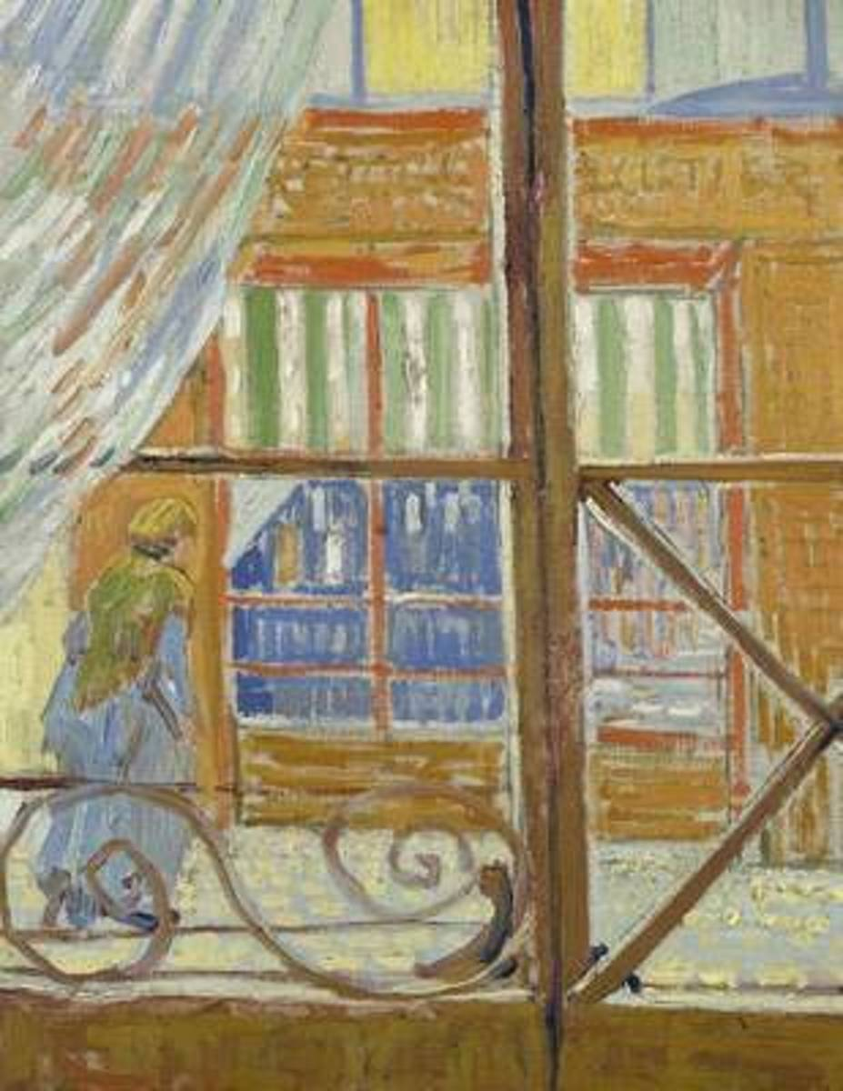 View of a Butcher's Shop, Vincent Van Gogh. Ruled Journal