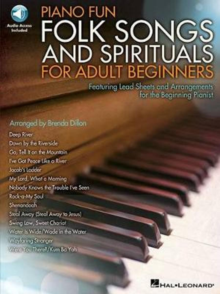 Piano Fun Folk Songs and Spirituals for Adult Beginners