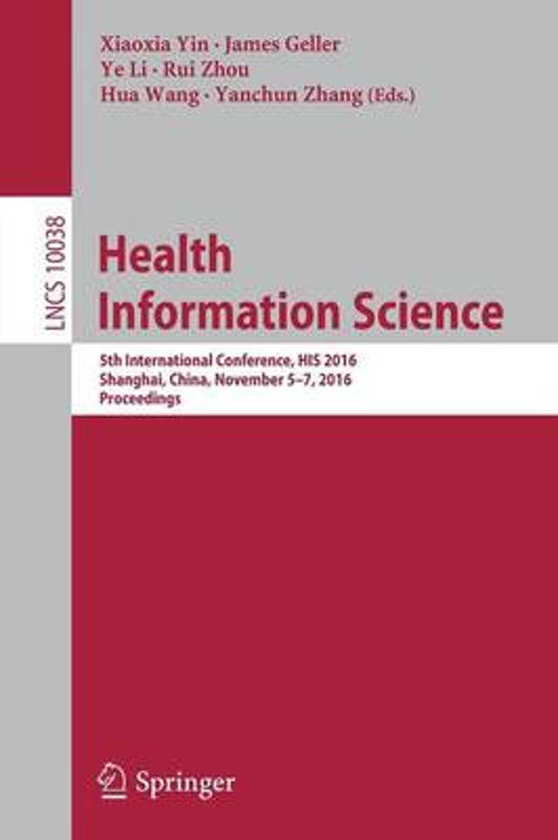 Health Information Science