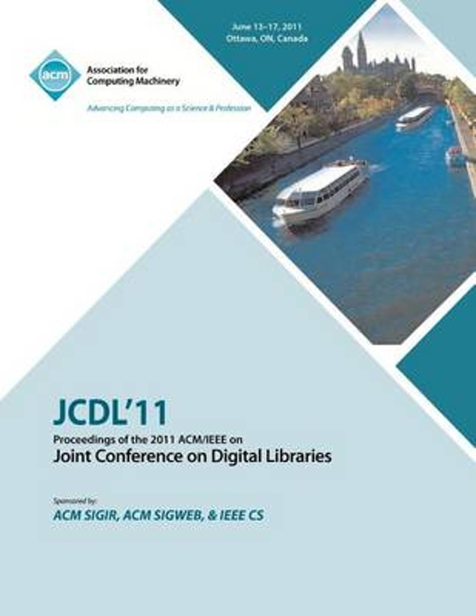 Jcdl'11 Proceedings of the 2011 ACM/IEEE on Joint Conference on Digital Libraries