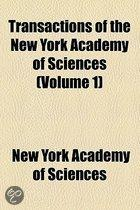 Transactions Of The New York Academy Of Sciences (Volume 1)