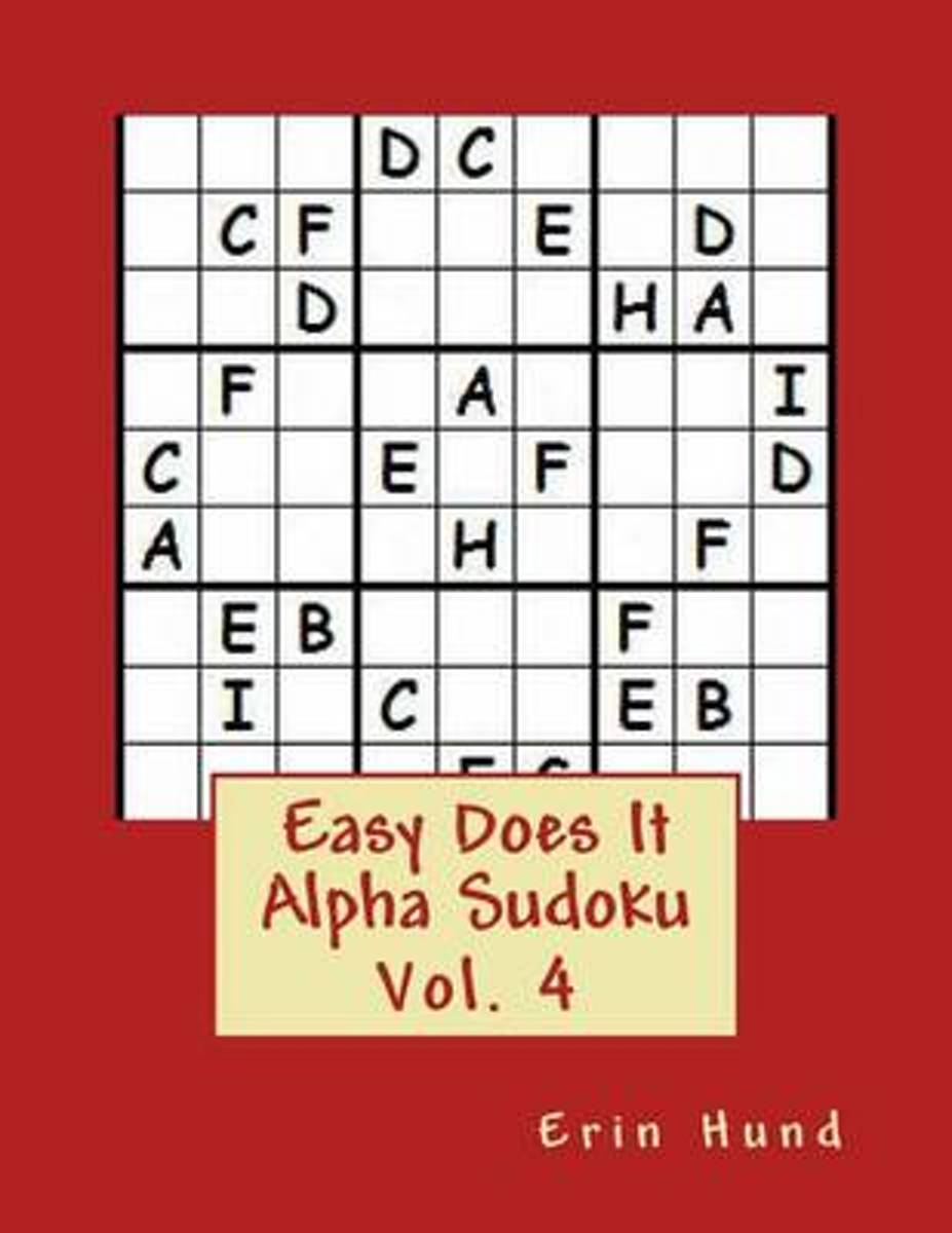 Easy Does It Alpha Sudoku Vol. 4