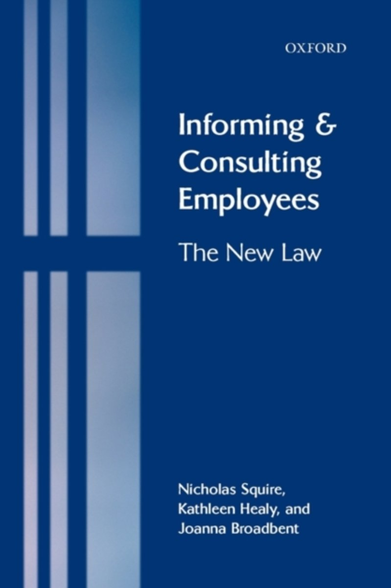 Informing and Consulting Employees