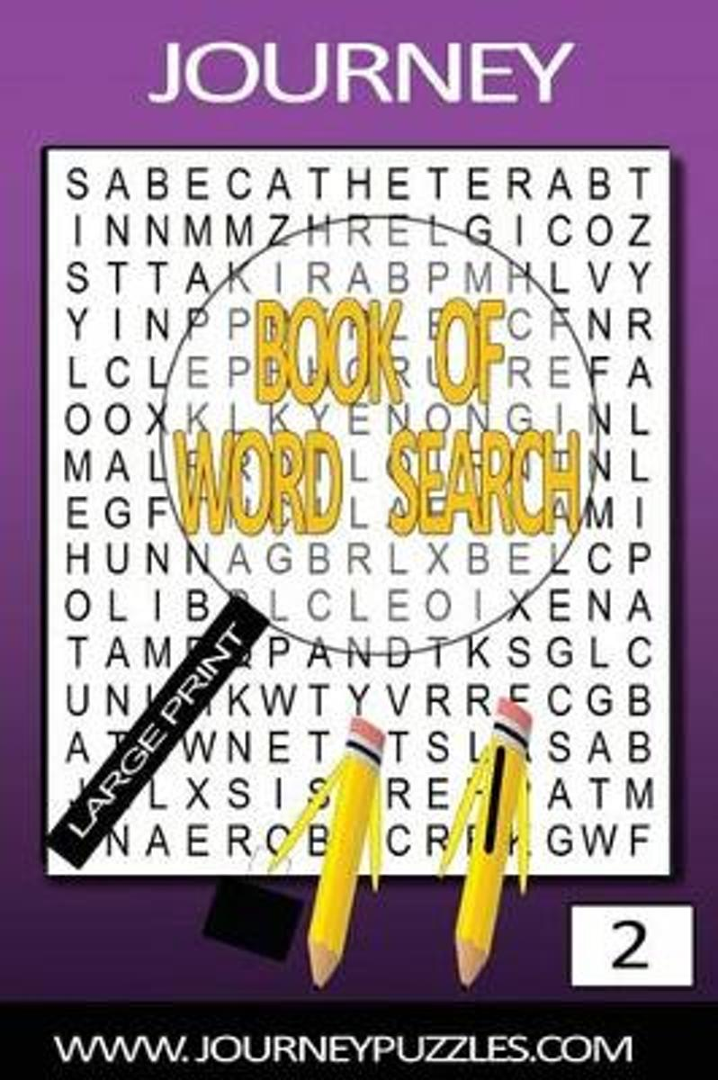 Journey Large Print Word Search Book 2
