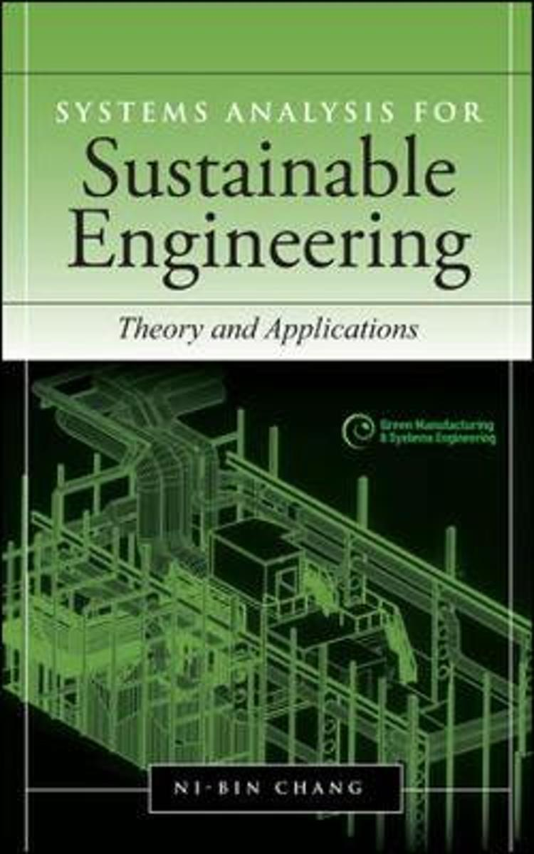 Systems Analysis for Sustainable Engineering