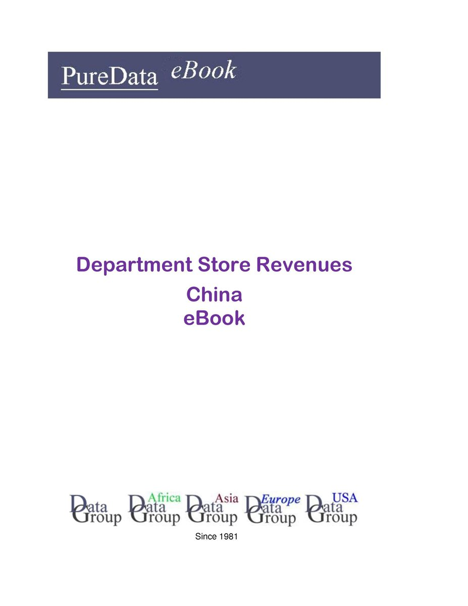 Department Store Revenues in China