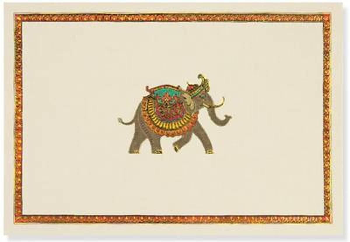 Elephant Festival Note Cards (Stationery, Note Cards, Boxed Cards)