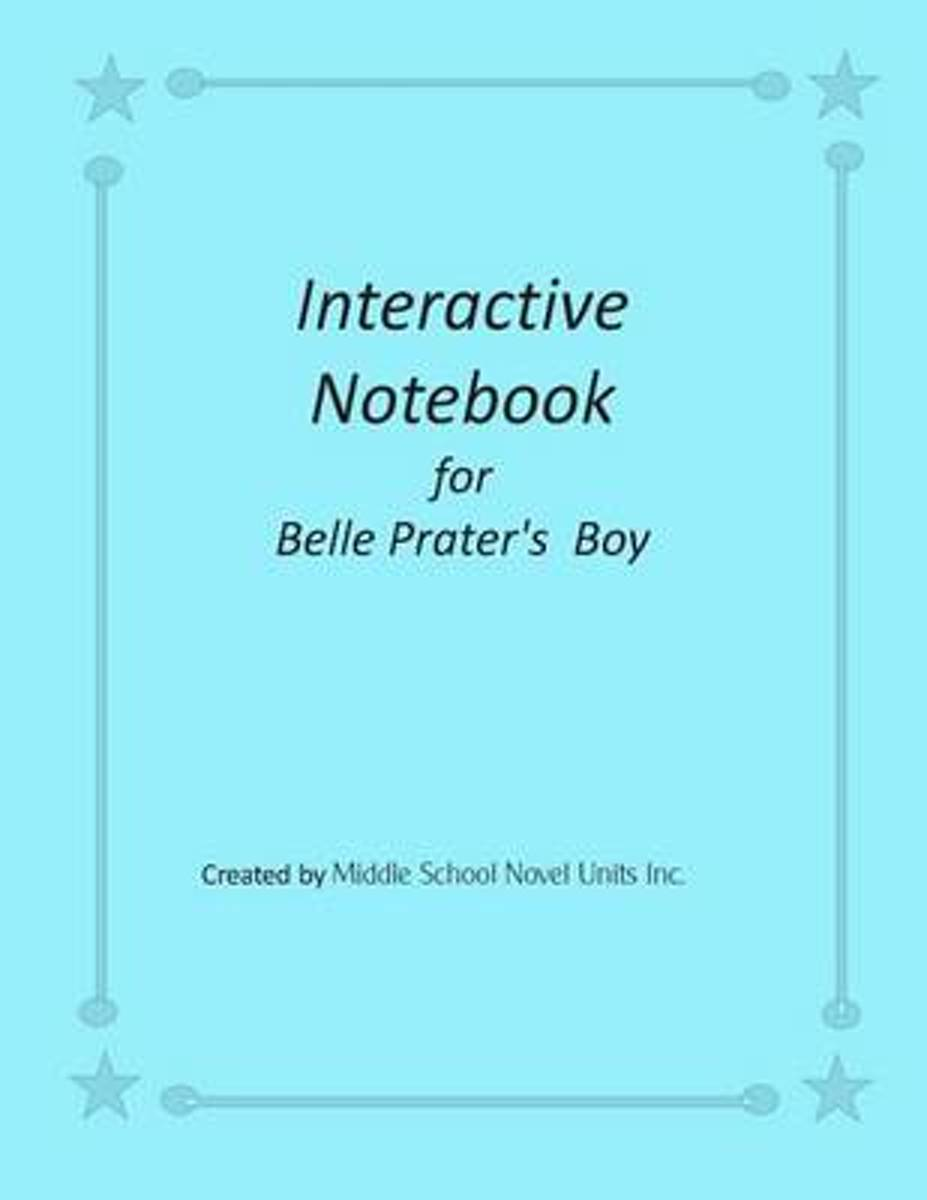 Interactive Notebook for Belle Prater's Boy