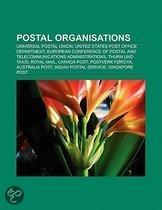 Postal Organisations: Universal Postal Union, United States Post Office Department