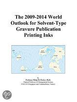 The 2009-2014 World Outlook for Solvent-Type Gravure Publication Printing Inks