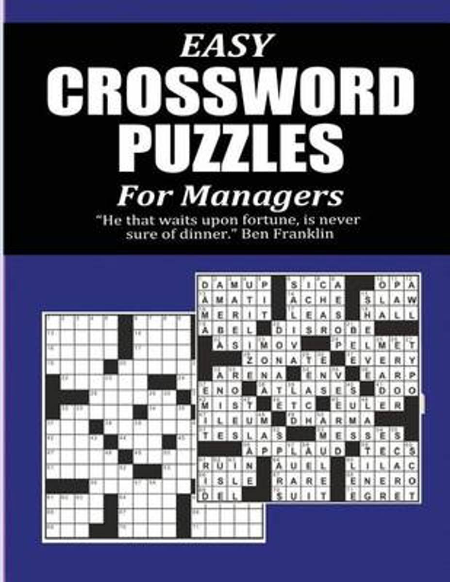 Easy Crossword Puzzles for Managers