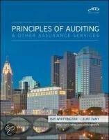 Principles Of Auditing And Assurance Services