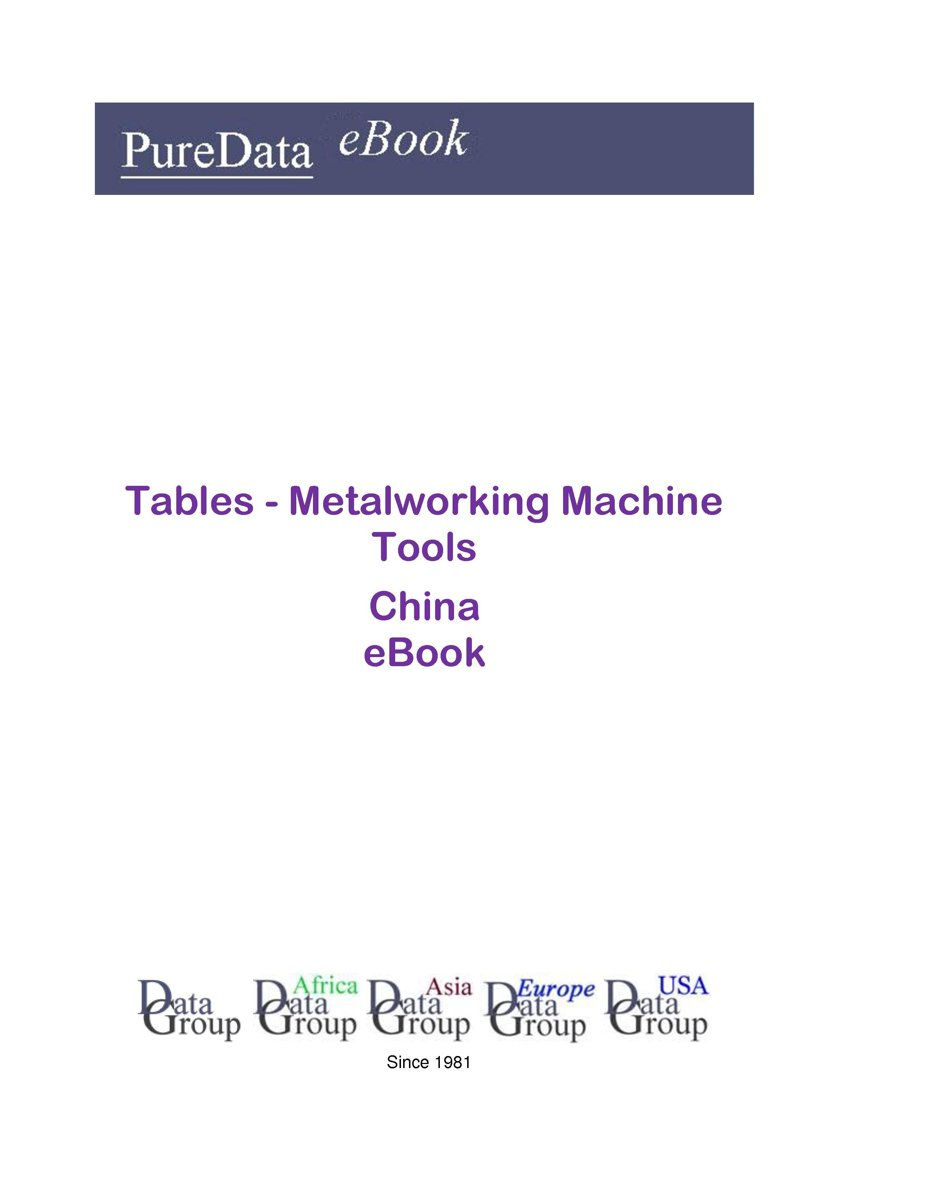Tables - Metalworking Machine Tools in China