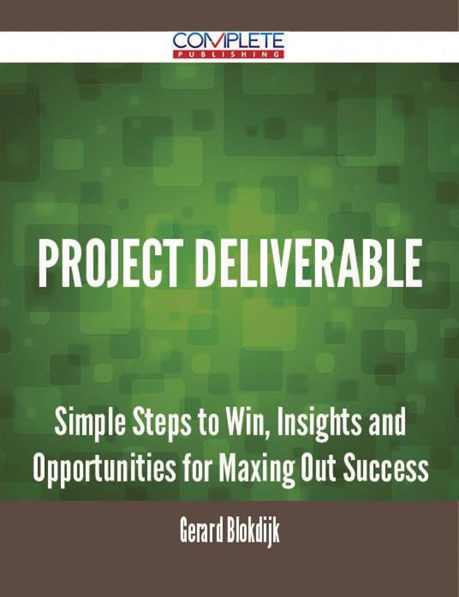 Project Deliverable - Simple Steps to Win, Insights and Opportunities for Maxing Out Success