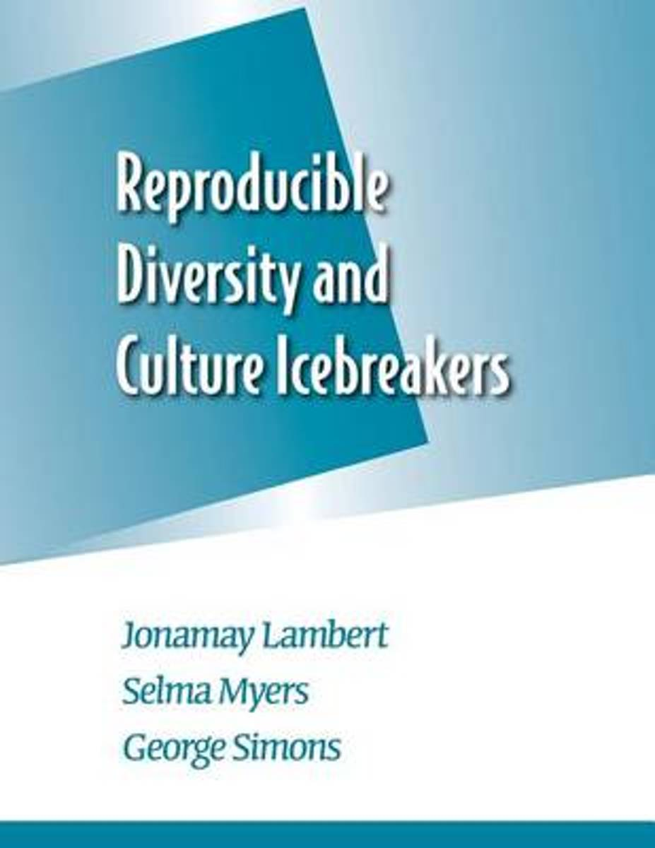 Reproducible Diversity and Culture Icebreakers