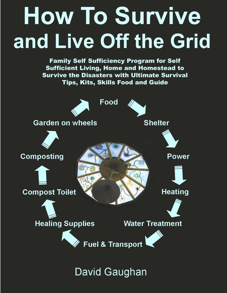 How To Survive and Live Off the Grid: Family Self Sufficiency Program for Self Sufficient Living, Home and Homestead to Survive the Disasters with Ultimate Survival Tips, Kits, Skills Food an