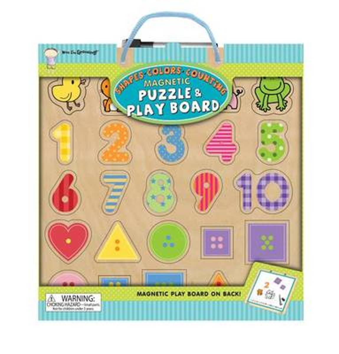 Now I'm Growing Magnetic Puzzle & Play Board