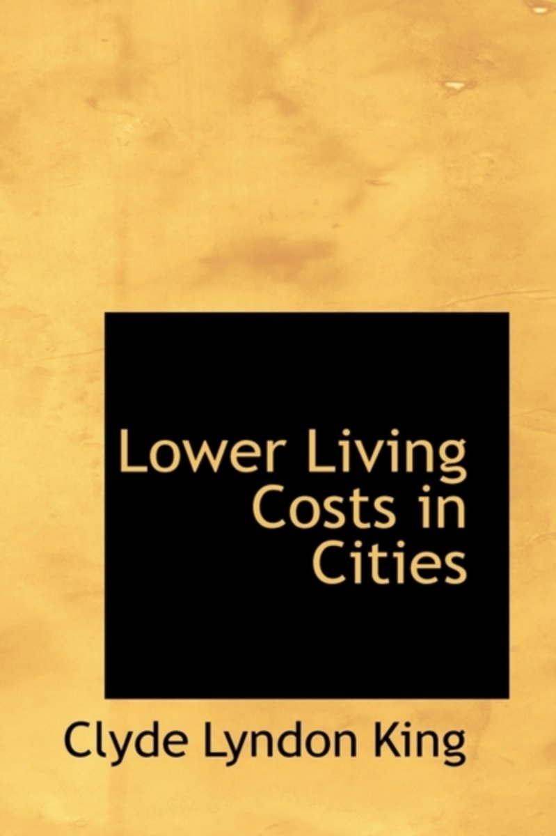 Lower Living Costs in Cities
