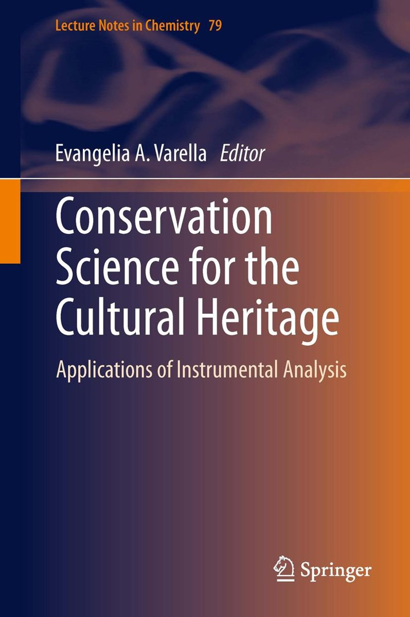 Conservation Science for the Cultural Heritage