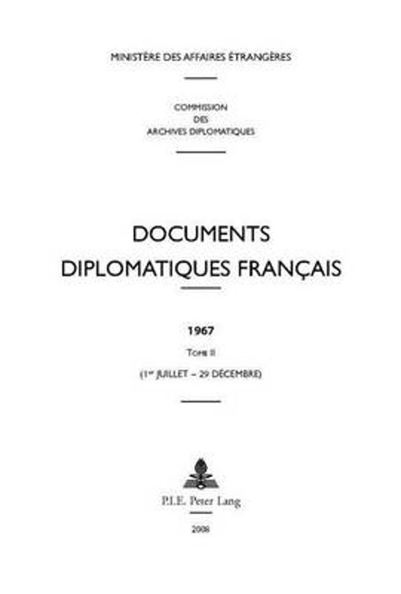 Documents diplomatiques français 1967-2