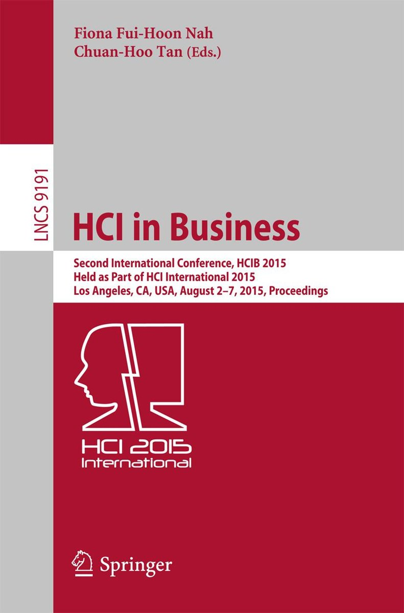 HCI in Business