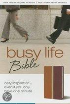 Busy Life Bible-NIV: Daily Inspiration--Even If You Only Have One Minute