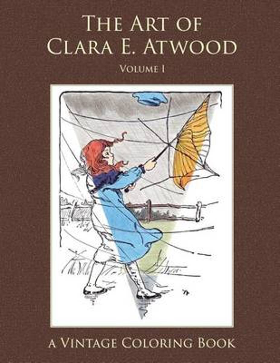 The Art of Clara E. Atwood Vintage Coloring Book