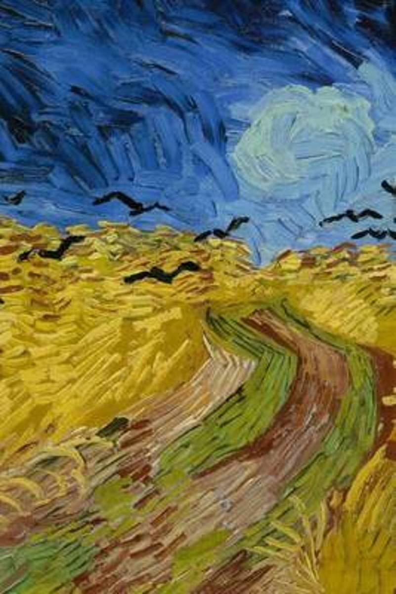 Wheatfield with Crows, Vincent Van Gogh