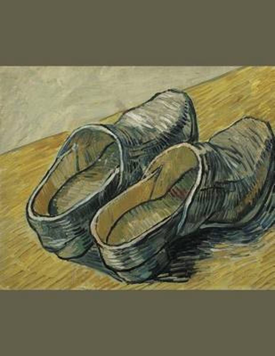A Pair of Leather Clogs, Vincent Van Gogh. Blank Journal