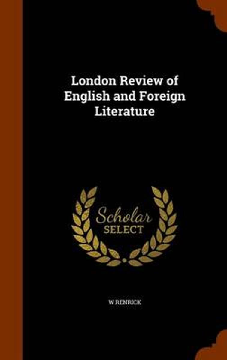 London Review of English and Foreign Literature