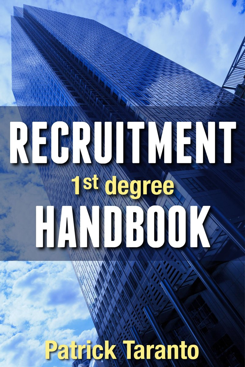 Recruitment Handbook, 1st degree
