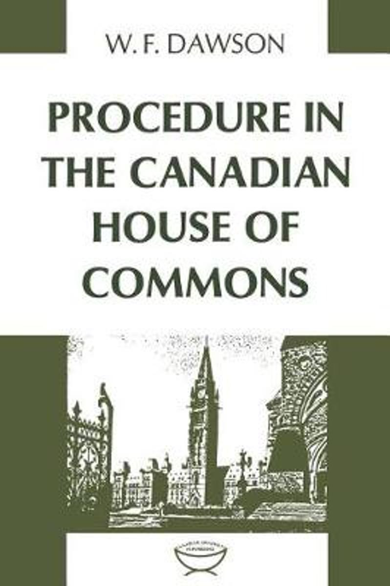 Procedure in the Canadian House of Commons