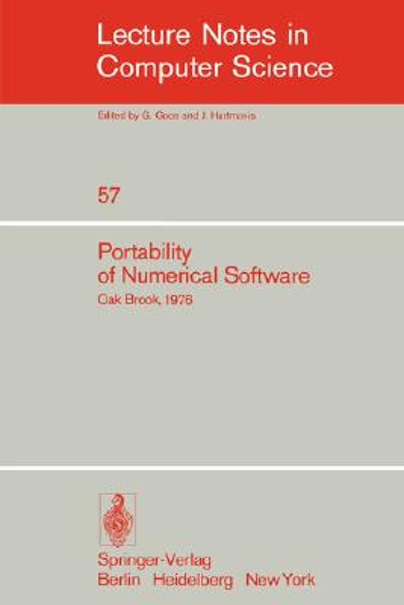 Portability of Numerical Software