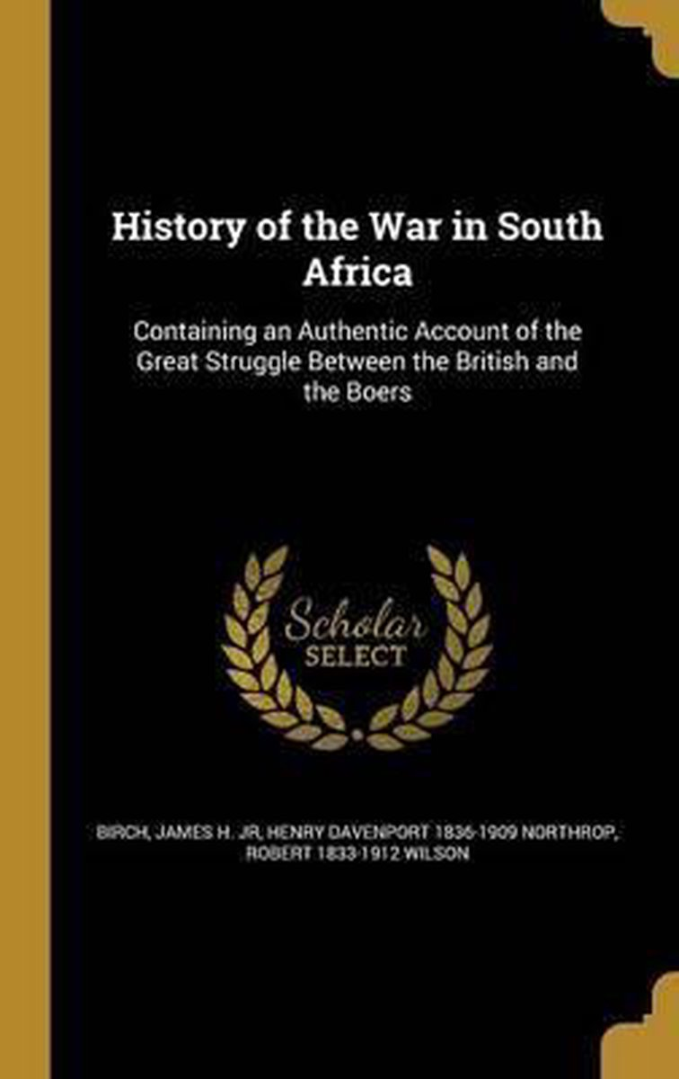 History of the War in South Africa