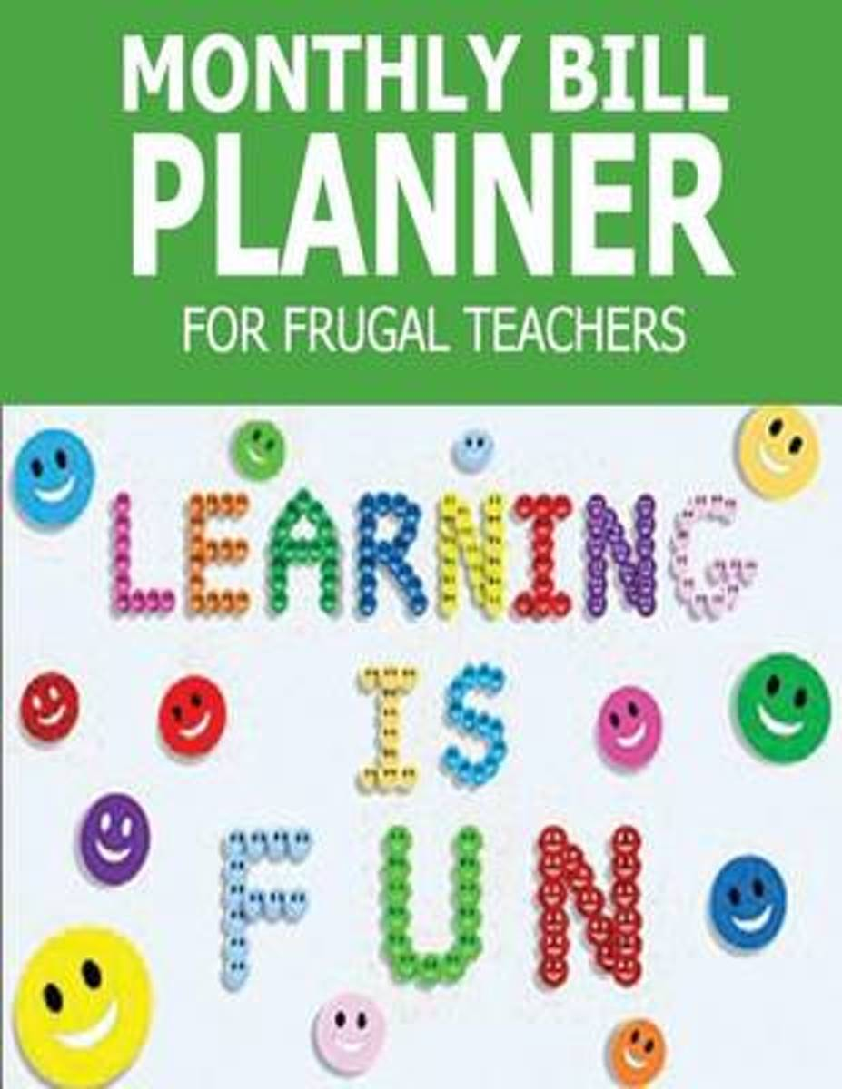 Monthly Bill Planner for Frugal Teachers