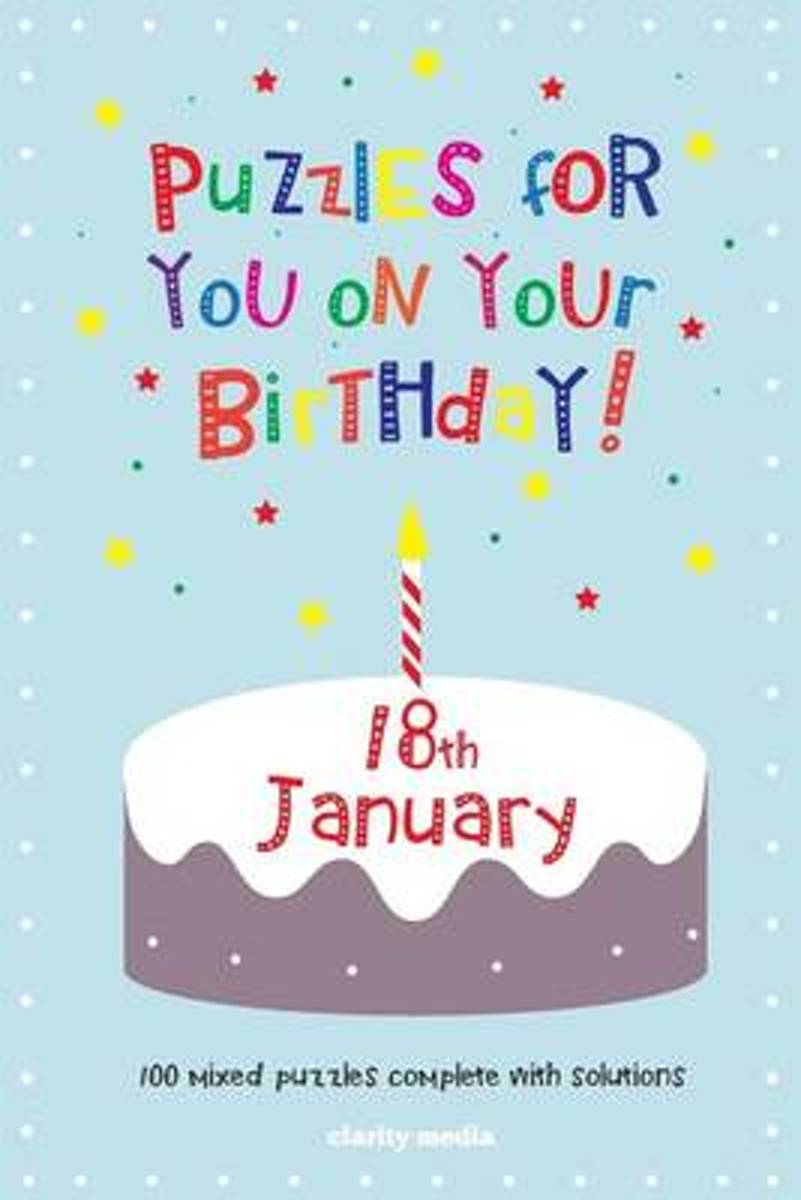 Puzzles for You on Your Birthday - 18th January