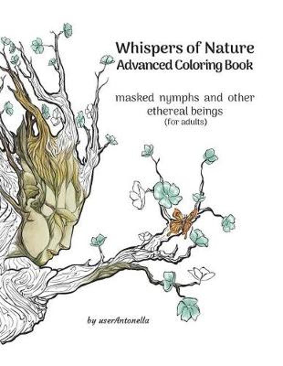 Whispers of Nature Advanced Coloring Book