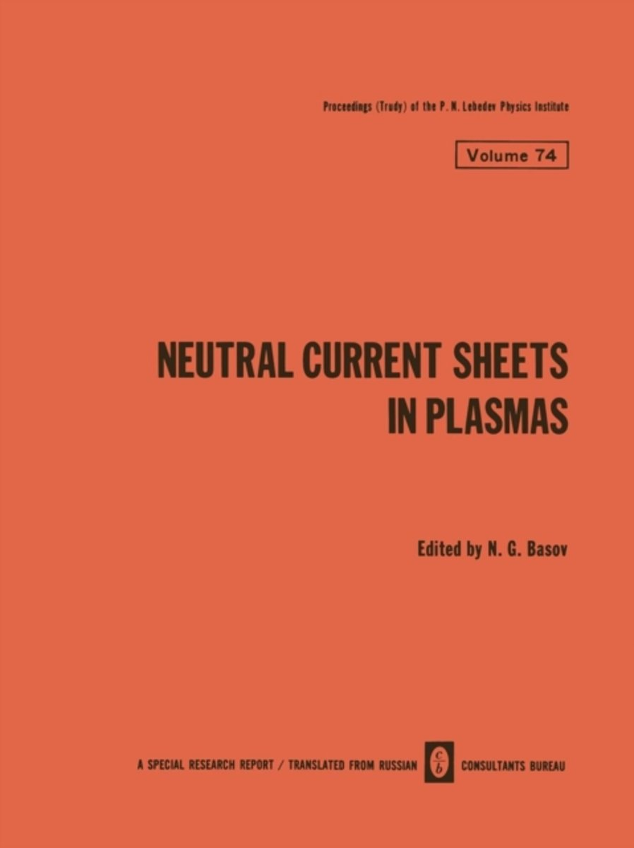 Neutral Current Sheets in Plasmas