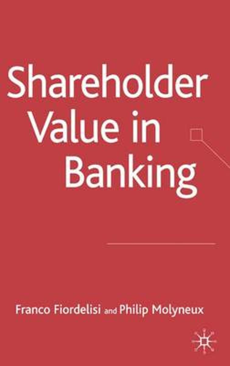 Shareholder Value in Banking