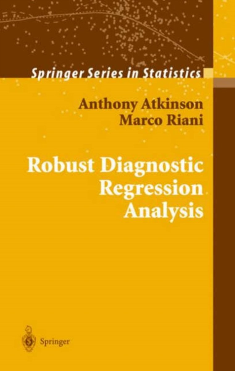 Robust Diagnostic Regression Analysis