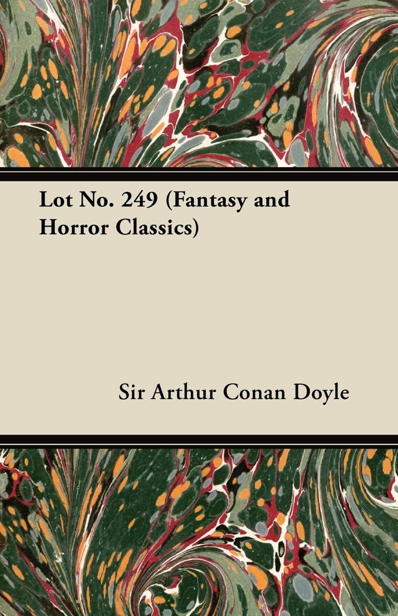 Lot No. 249 (Fantasy and Horror Classics)