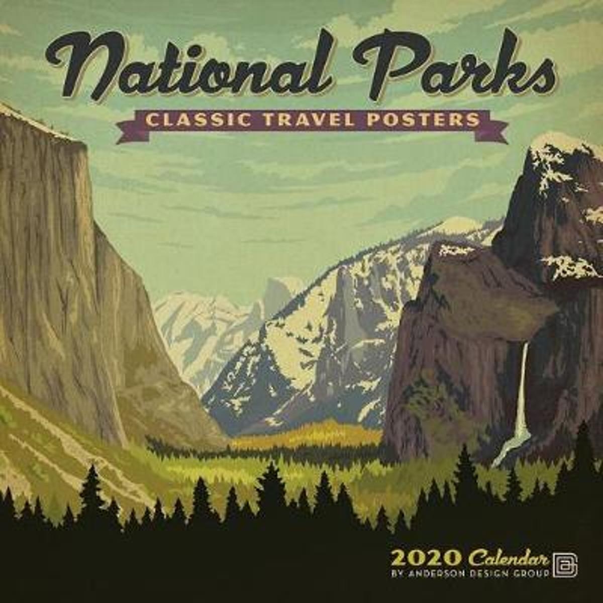 Cal 2020-National Parks Classic Posters Wall