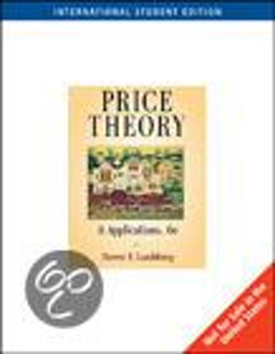 Price Theory Application