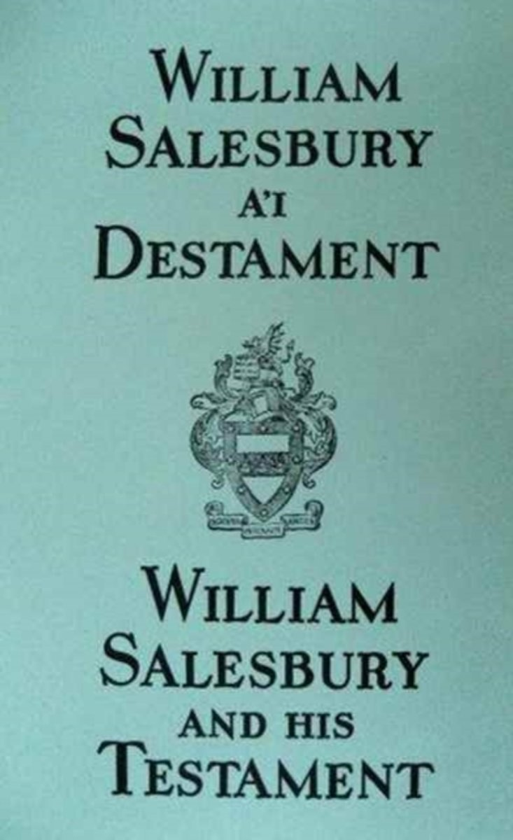 William Salesbury a'i Destament / William Salesbury and his Testament